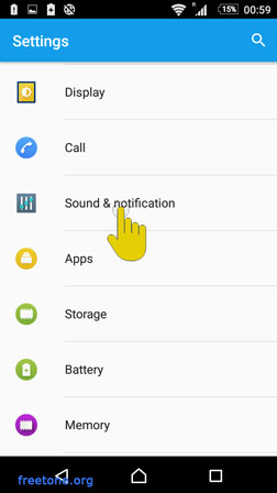 Android 6 Marshmallow Settings